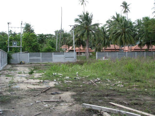 Plot of beach-side land  – for sale (Hua Thanon)