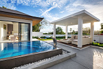 "Villa ""3 bedroom villa in Sunway Villas with 5% net annual guaranteed ROI"" 3 bedrooms, 3 showers, garden, private pool, walking distance to the beach, district Choeng Mon, sale for 12 900 000 baht"